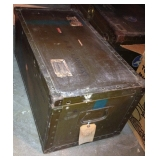 WWII Miliary Trunk - 2