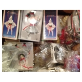Many Boxed Ornaments and Decor