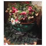 Great Selection of Holiday Wreaths and Decor
