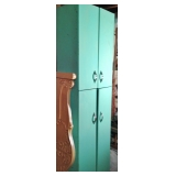 Tall Vintage Metal Cabinet