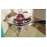 Silver Plated Warming Pot