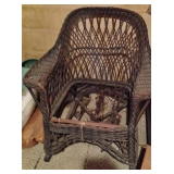 Antique Wicker Chairs - Come on, Making a Seat is easy!