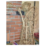 Tall Vine Angel Sculpture