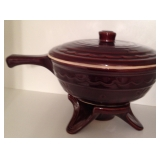 Large Marcrest Ovenware and warming Stand