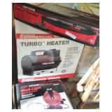 Craftsman Sander, Duracraft Turbo Heater, Sears Retractable Work Light