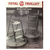 Total Trolley Combination Stepladder - Dolly- Cart