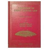 Handbook of Court Martial Law 1940