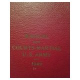 Manual for Courts-Martial U.S.Army 1949