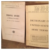 Personal Affairs of Military Personnel and Dictionary of United States Army Terms 1946