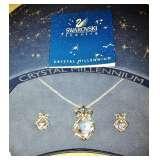 Millennium Swarovski Necklace and Earring Set NIB