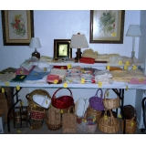 table cloths, napkins, etc