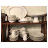 White Dishes and China