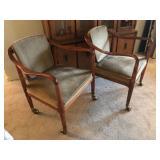 mid-century chair set