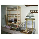 Lots of bric a brac and decorative items