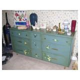 Another Mid Century bureau - has been painted