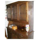 Colonial style hutch