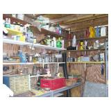 Shed with Craftsman tools and miscellaneous