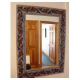 Pottery Fish Mirror