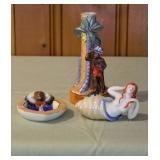 Indian & Mermaid Lusterware