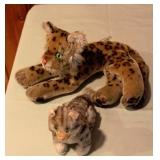 Steiff Tiger & Cat