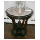 1 of 2 Vintage Mahogany MT Side Table
