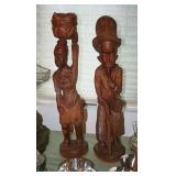 Haitian Carvings