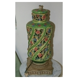 Capodimonte Lamp as found