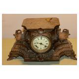Metal Ansonia Mantle Clock
