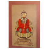 Gauche Asian Empress
