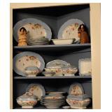 Victorian Limoges Dinnerware