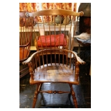 1 of 2 Windsor Style Arm Chairs