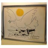 "Picasso ""Dove of Peace Arms of War"" Paris Peace Movement"