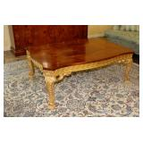 Carved and Gilded Coffee Table