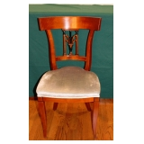 One of Ten Dining Room Side Chairs