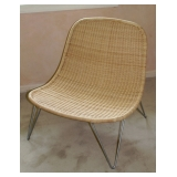 MCM Style Wicker Chair
