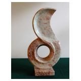 Contemporary Pink Marble Sculpture