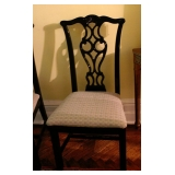 1 of 10 Chippendale Style Chairs