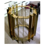 MCM Brass Table w/4