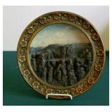 19C W. Shiller & Sons Wall Plaque