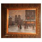"""Boyer"" O/C French Street Scene"