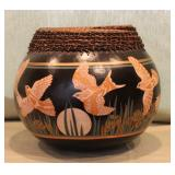 Barbara Shaw Brinson Gourd Vase