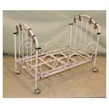 Vintage Dolls Iron Bed