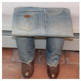 Blue Jeans Bench