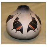 ":Quail"" Vase by Robert Rivera"
