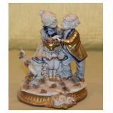 Capodimonte 2 Children Figurine