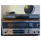 Samsung dvd player, Sony stero cassette player