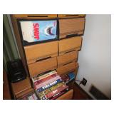 Vhs tapes and drawers