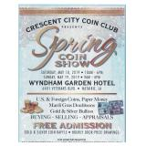 Ages Ago Estate Sales at the Crescent City Coin Club Show