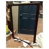 Modern Large Wood Frame Mirror CW1011 3