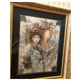 "https://www.ebay.com/itm/114119718615 CH084: Peter Nixon ""Festival IV"" Serigraph Framed Local Pickup"